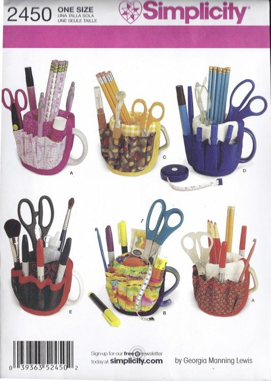 mug caddy for supplies | Quilt ideas | Pinterest | Sewing ...