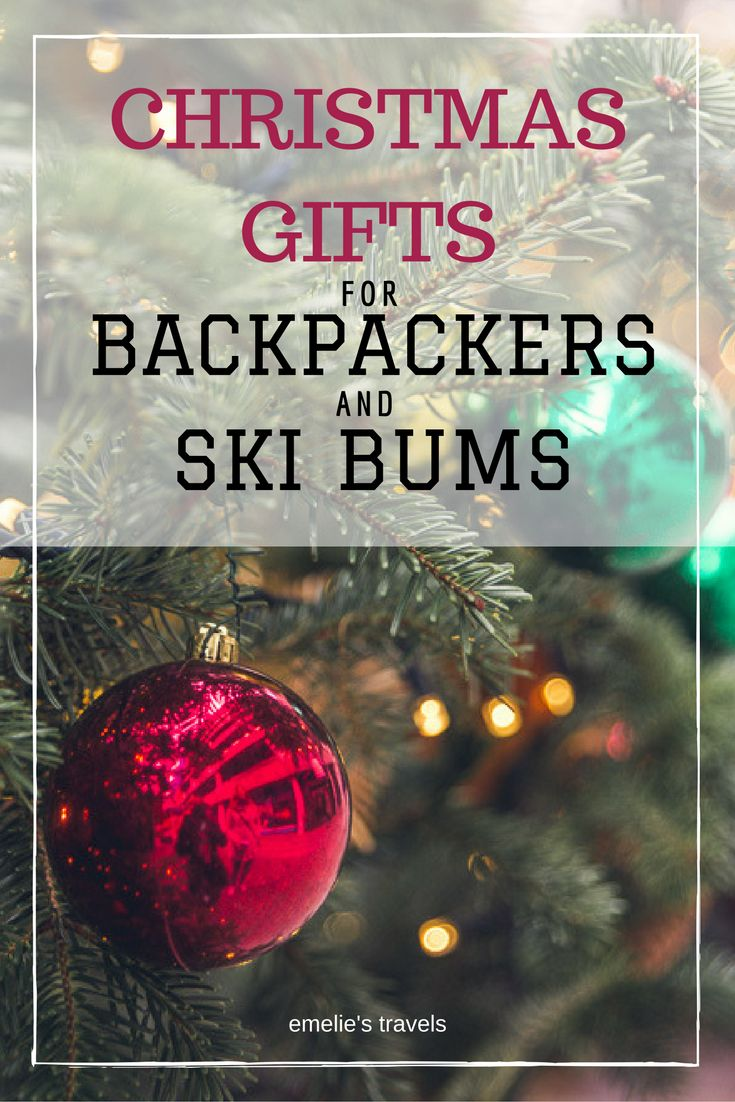 CHRISTMAS GIFTS FOR BACKPACKERS AND SKIBUMS | Christmas gift ideas