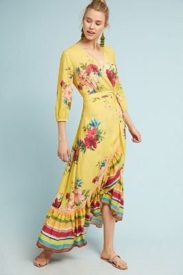9a194610da4 Shop the Farm Rio Marketplace Wrap Dress and more at Anthropologie today