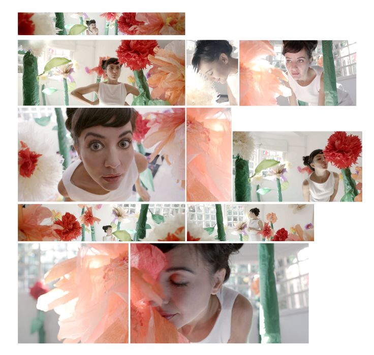 fotogramas de un videoclip donde hice la escenografía