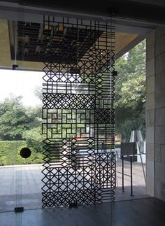 metal and glass partition - Google Search Mais