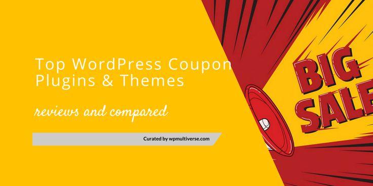 13 Best WordPress Coupon Plugins & Themes 2016