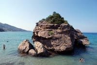 porto azzurro beach, bar&restaurant, vassilikos in zakynthos, greece