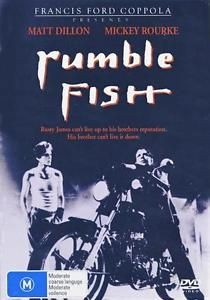 Rumble Fish (DVD, 2013) New. #DVD #Movies