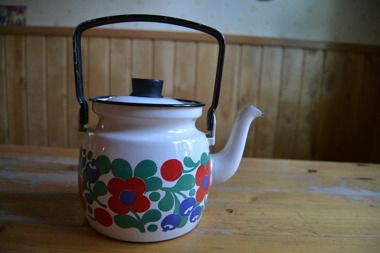 Finel Mustikka pot, very rare!