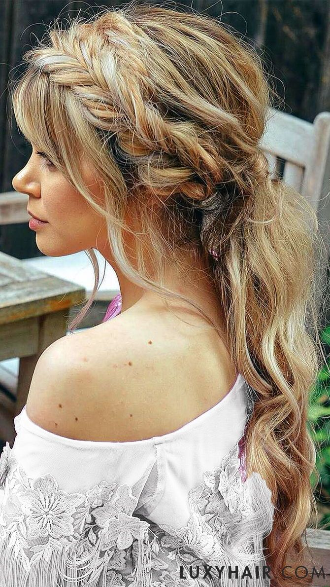 wedding hairstyles for long hair: 3 beautiful hairstyles for