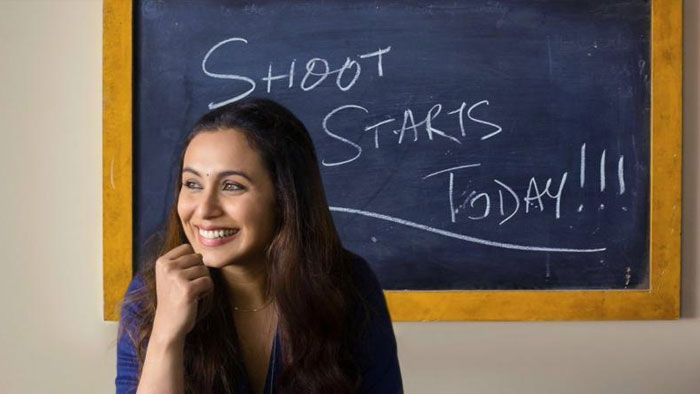 "Rani Mukerji Starts The Shooting For Yash Raj Films - YRF's ""Hichki"", Watch The Video!"