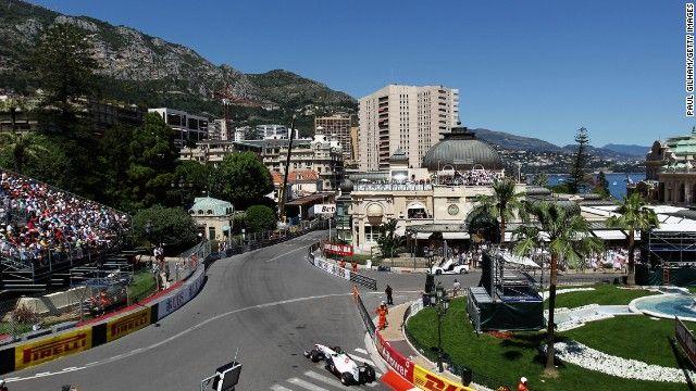 Monaco GP circuit  #MonacoGP2015