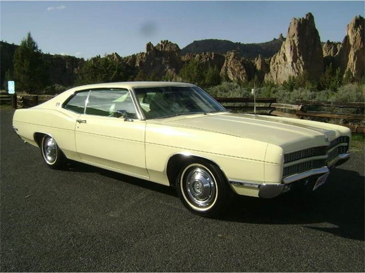 1969 Ford Galaxie 500 Xl 2 Door Hardtop Ford Galaxie Ford Classic Cars Ford