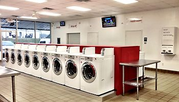 Bigwash Laundry Shop provides coin operated laundry services