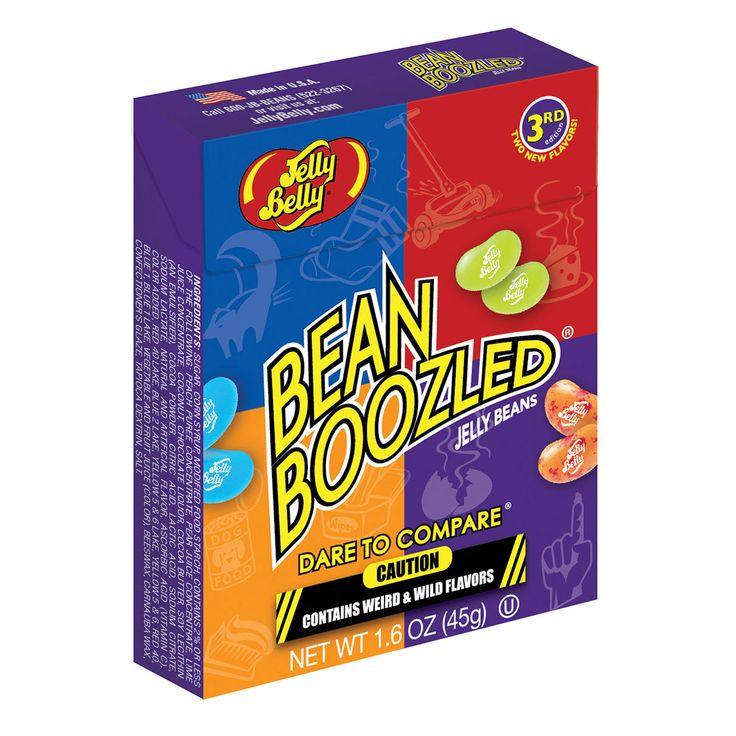 A bulk shipper of Jelly Belly Bean Boozled Boxes.
