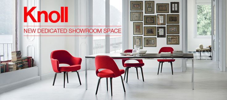 New dedicated show room space for Knoll International in store