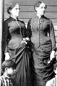 Sophia B. Packard and Harriet E. Giles founded the first college for black women in the United States in 1881. The school was named Spelman College after Laura Celestia Spelman Rockefeller, the wife of John D. Rockefeller, who made a sizeable donation to the school.