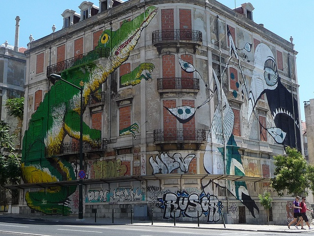 Ephemeral Urban Graffiti - Crono Project: Ericailcane & Lucy McLauchlan (October 2010) by bella.m, via Flickr