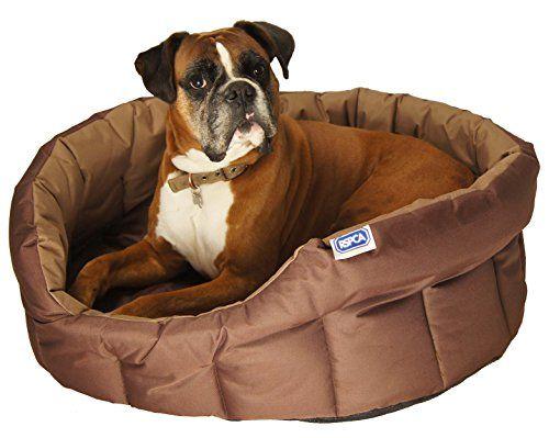 Lifemax Étrille Extra solide pour chien Panier ovale, grande: Lit pour chien résistant Base antidérapant résistant à l'eau contribution à…