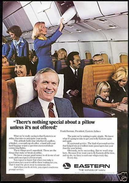 Eastern Airlines - Stewardess Pillow (1977)