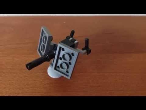 LEGO UNSC: AEI-486H HEAVY MACHINE GUN (TURRET) - YouTube