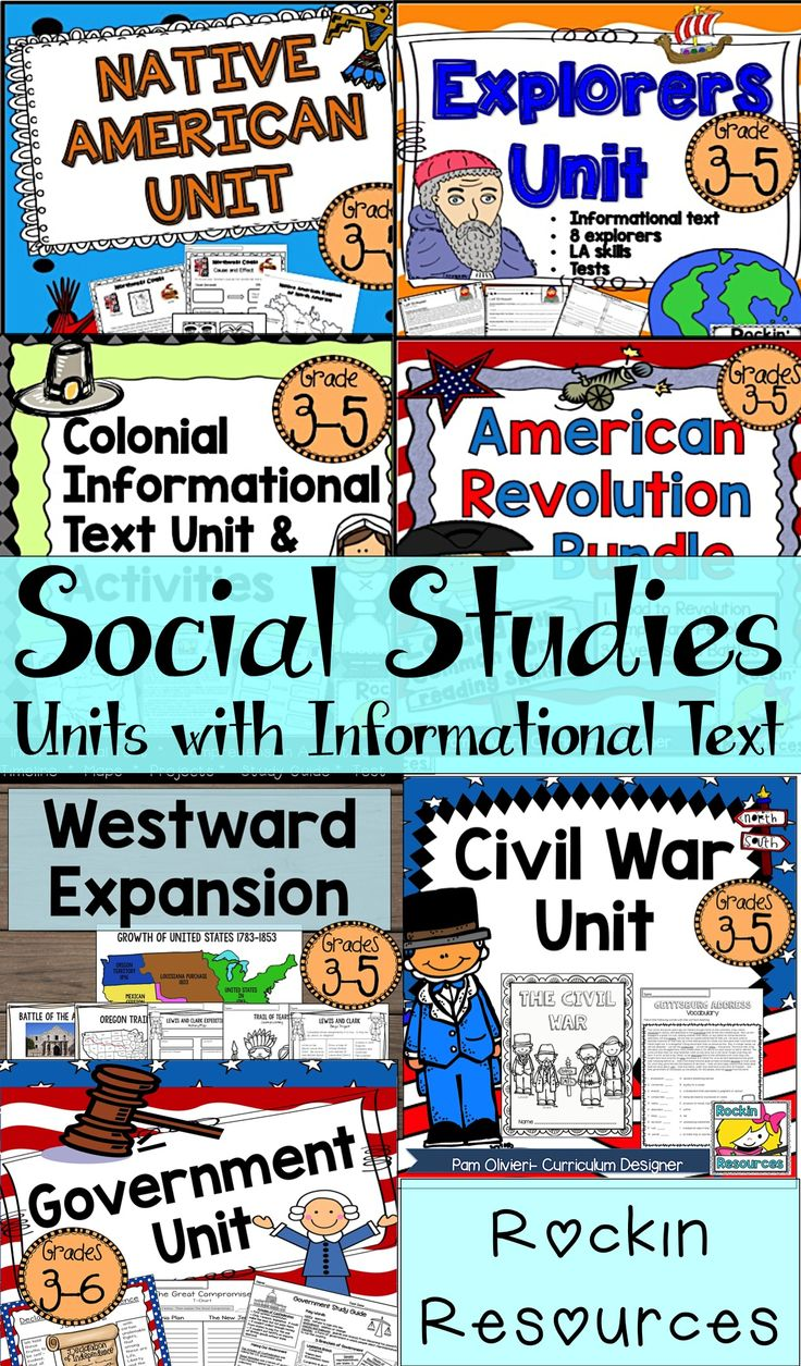 These Social Studies units on American History are so easy to use! They are filled with informational text, activities, crafts, reading comprehension skills, writing, projects, study guides, tests, and more!! NO PREP- No need for text book and tons of creative lessons and ideas! Sold as a Mega Bundle or individually.