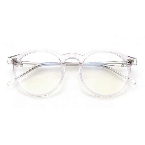 Wildfox Steff Spec Eyeglasses (555 BRL) ❤ liked on Polyvore featuring accessories, eyewear, eyeglasses, glasses, sunglasses, fillers, crystal, wildfox glasses, circle glasses and circle lens glasses