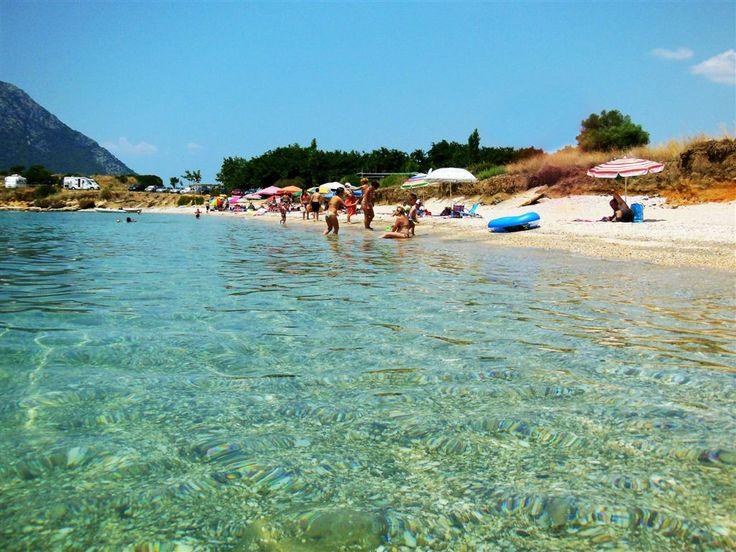 παραλία Ξηρόμερο Λιβανάτες
