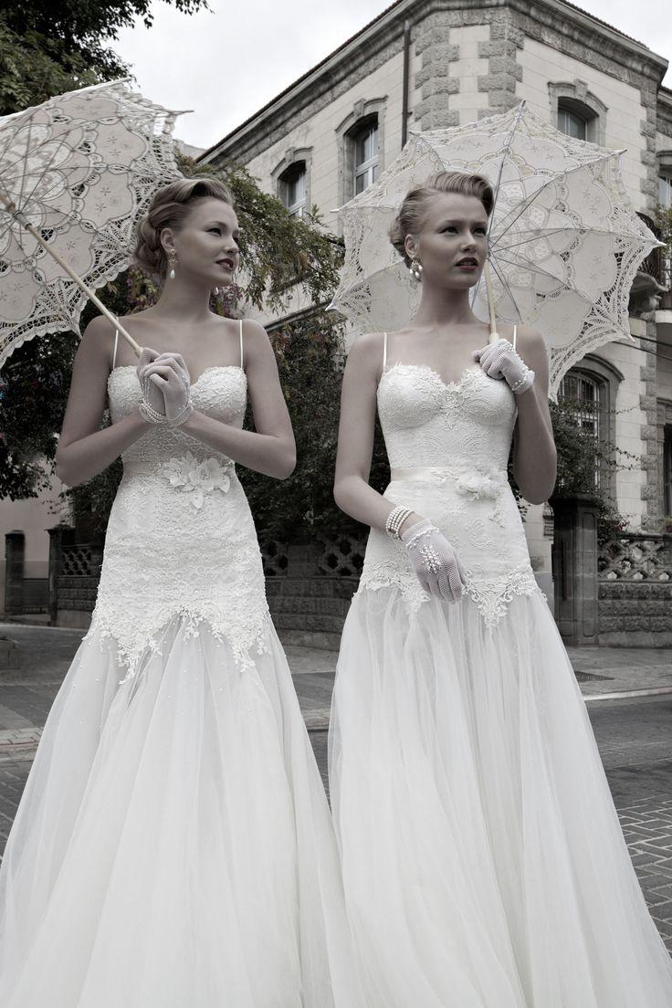Cute recycled vintage wedding dresses!