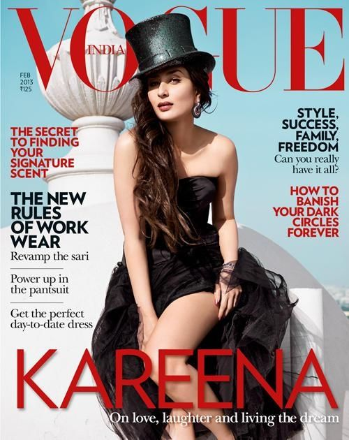 Kareena Kapoor Khan's first mag cover after her marriage with Saif Ali Khan.