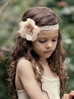 I like how she's wearing the headband pretty-little-girl-stuff: Flower Girl Headbands, Girl Hair, Head Bands, Ideas, Cute Headbands, Dreams, Flower Headbands, Flower Girls Headbands, Girls Hair