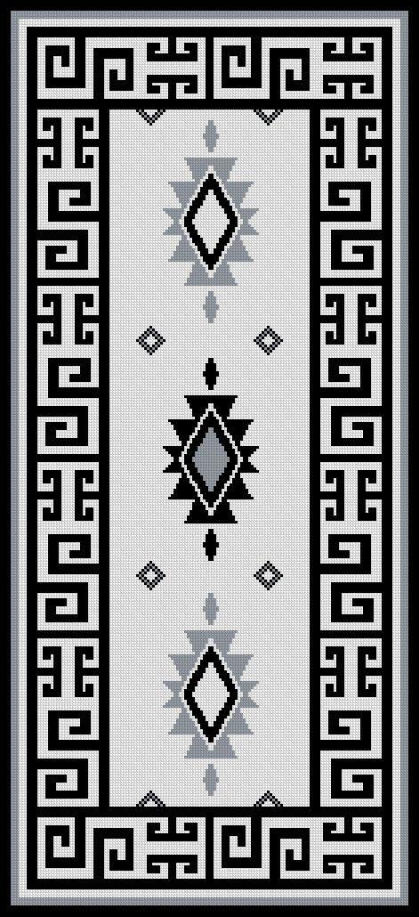 Alfombra mapuche
