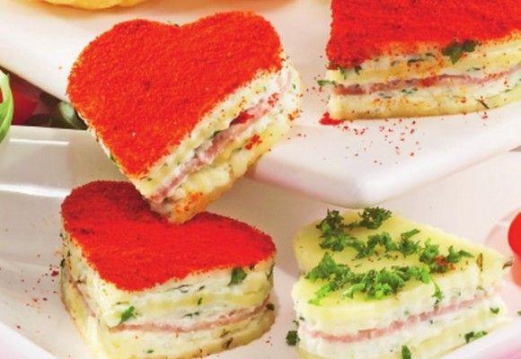 Inimioare colorate #appetisers