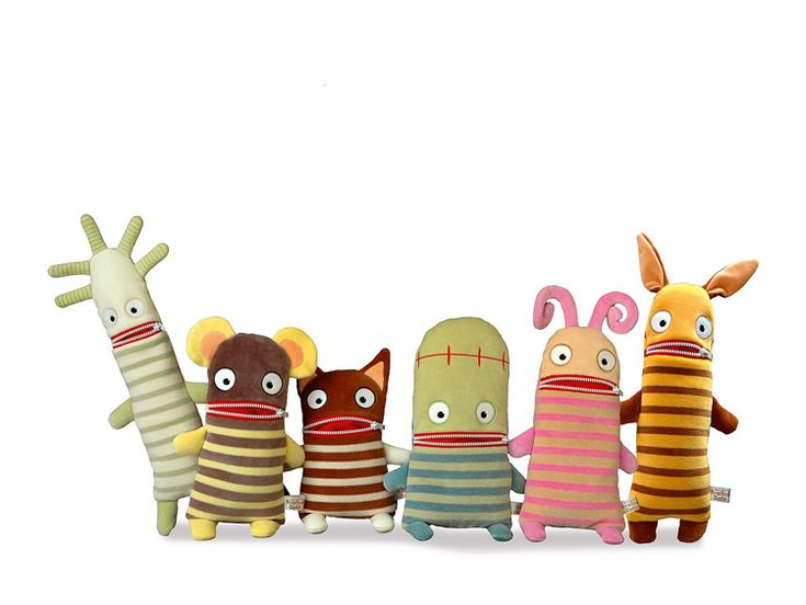 Toby & Roo | The BooBoo Dolls are all so unique, there is a design to suit everyone!
