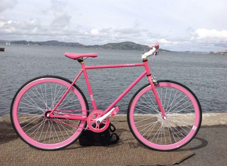 Usee 700C Single Speed Road  Bike Pink New