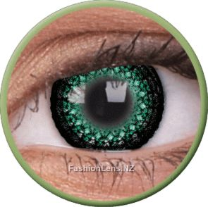 BUY ONLINE NOW - Eyelush Green coloured fashion contact lenses by ColourVue - New Zealand