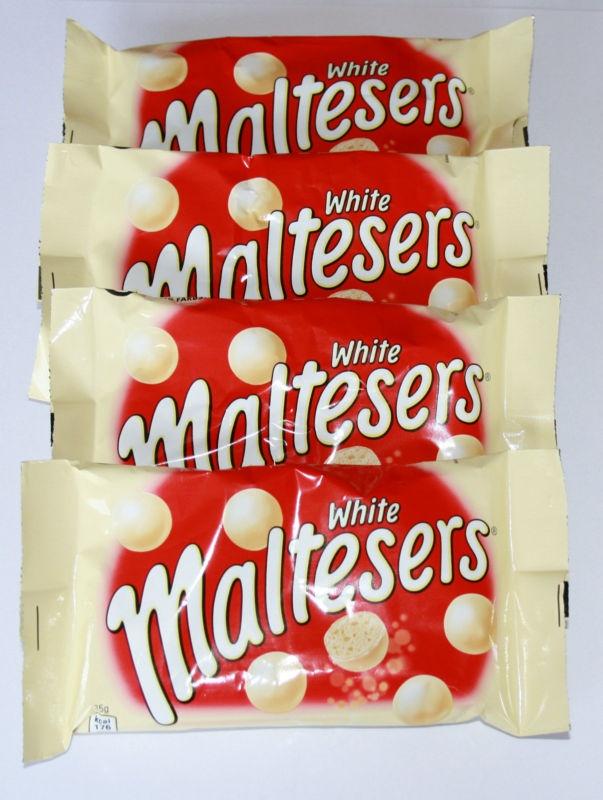 4 x UK WHITE MALTESERS 35g | eBay | camp ideas