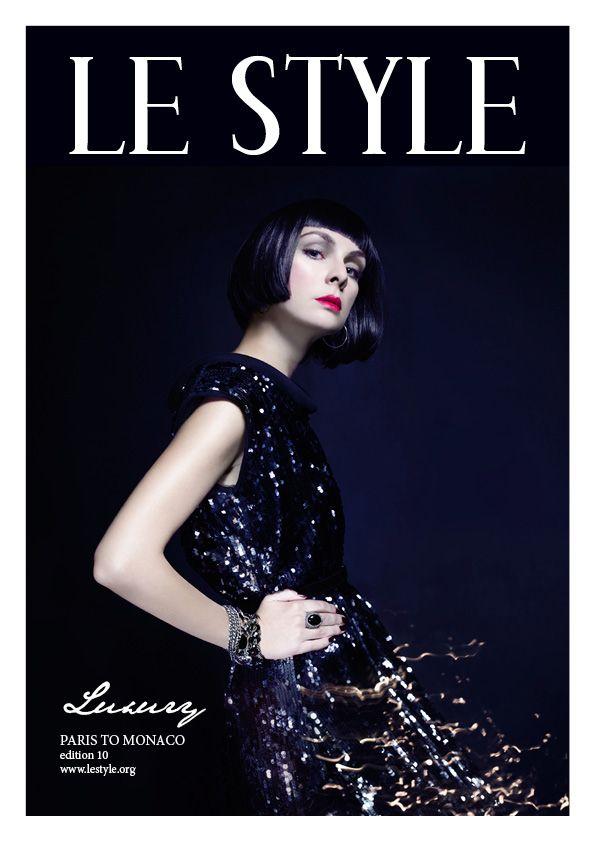 Le Style magazine edition 10 - Luxury  PHOTOGRAPHY: Lambada Studio MODEL: Vasilina Popova HMUA: Vasilina Popova WARDROBE: AQUA, Banana Republic, archive vintage LOCATION: Russia