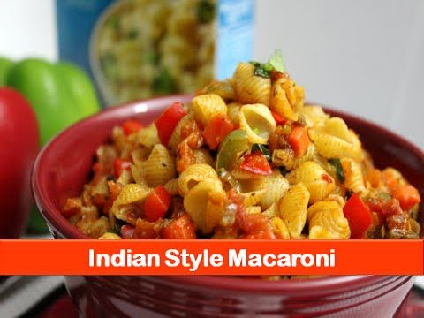 ▶ Indian vegetarian macaroni pasta recipe|how to make/cook easy lunch pasta recipes-let's be foodie - YouTube
