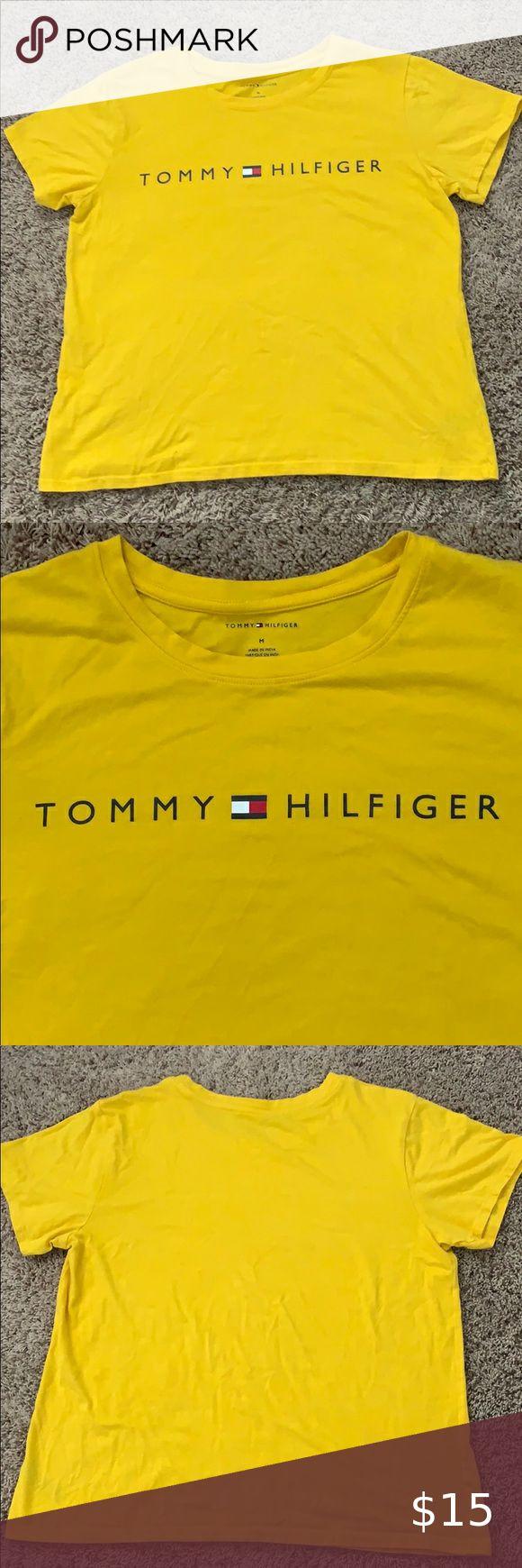 Original Yellow Tommy Hilfiger TShirt in 2020 Tommy