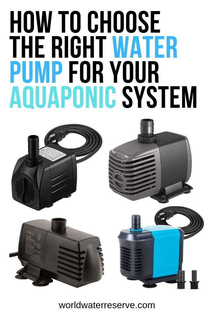 Water Pumps For Aquaponics How To Choose The Right Size Aquaponics System Aquaponics Diy Aquaponics