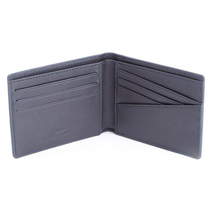 Royce Slim Bifold Genuine Leather Wallet with RFID Blocking Technology Blue