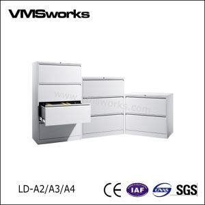 China Office Furniture,Filing Cabinet,Integrated Full Width Flush Handle 2/3