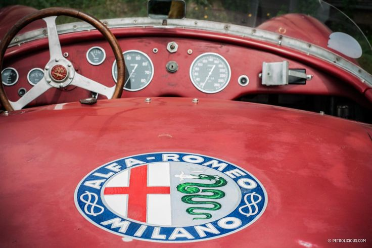A view from the rear bumper at Mille Miglia via Petrolicious