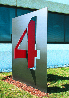 Royal Executive Park | C&VE Design exterior signage