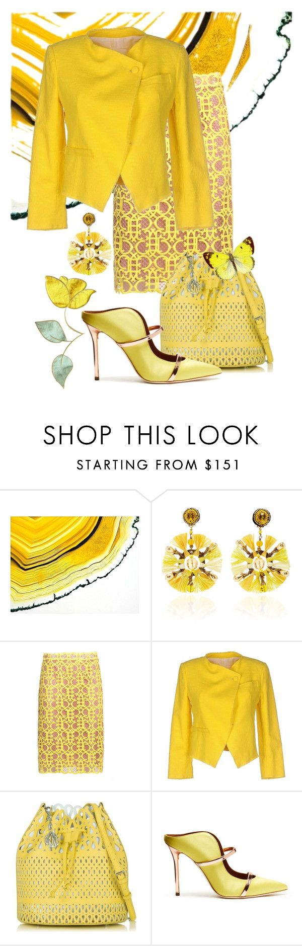 """Untitled #1702"" by sunnydays4everkh ❤ liked on Polyvore featuring Ranjana Khan, Emilio Pucci, Band of Outsiders, DKNY and Malone Souliers"