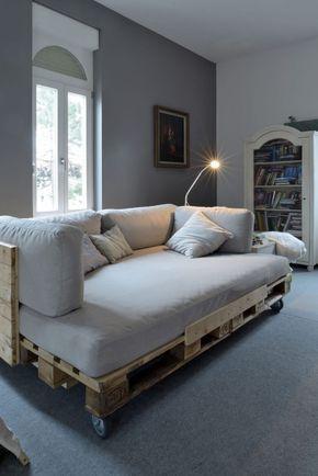Sofa Bett Aus Paletten Selber Bauen Mobel Aus Paletten Woodcraft