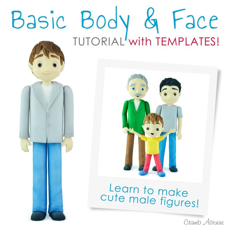 Basic Body & Face Tutorial with Templates