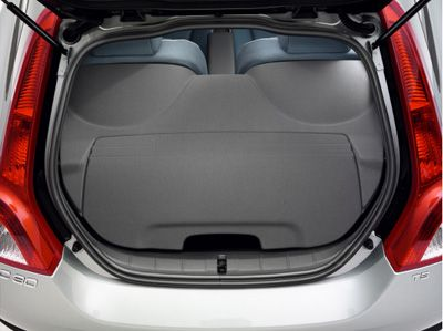 LUGGAGE COMPARTMENT COVER - OFF-BLACK - 2011 Volvo C30 (39865797)