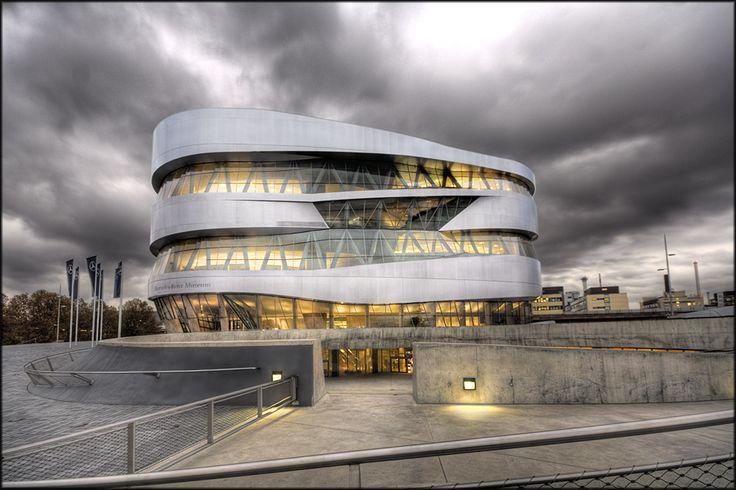Mercedes-Benz Museum, Stuttgart, Germany by Micerbe.deviantart.com