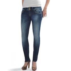 Ltb Damen Jeans Molly Super Slim Grau W 25 L 36 Ltbltb
