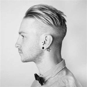 Slicked back undercut hair men 300x300 Undercut Haircuts for Men 2014