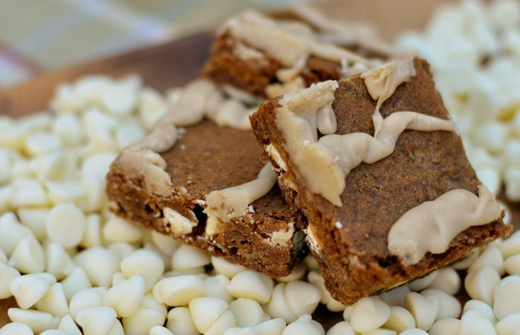 Gingerbread Blondies | Food | Pinterest