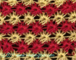 This reminds me of broomstick lace, in a way. (But knit, not crochet.)